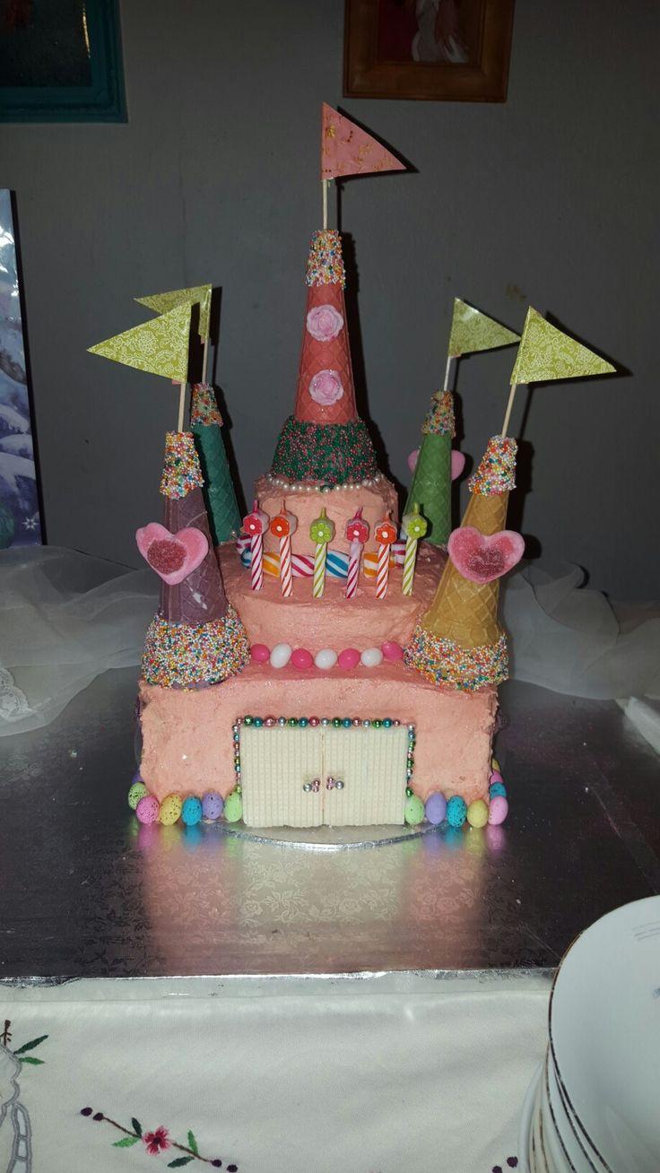 Castle  cake - Final product