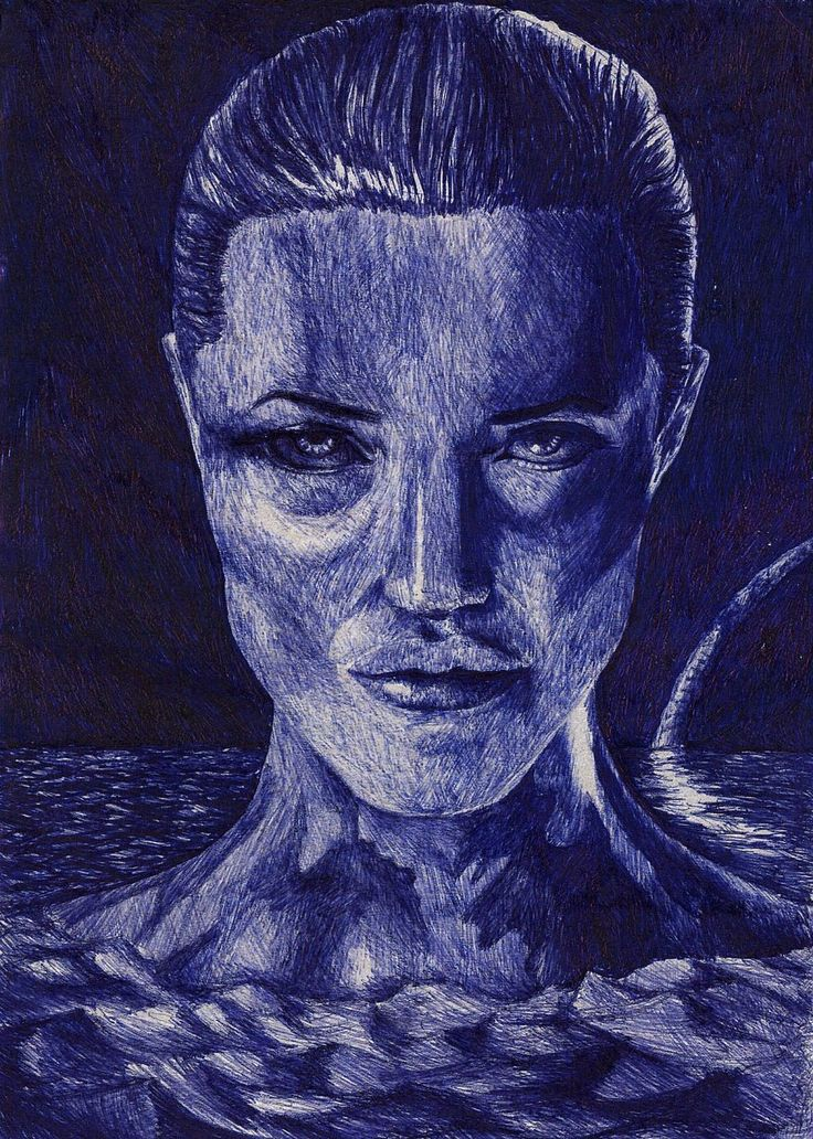 Angelina Jolie - Grendel's Mother by ChristianTsvetanov.deviantart.com on @DeviantArt