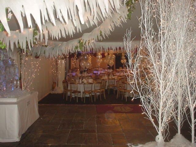 winter wonderland decor: Christmas Parties Theme, Winter Parties, Winter Trees, Winter Wonderland, Christmas Theme, Christmas Party Themes, Parties Ideas, White Branches