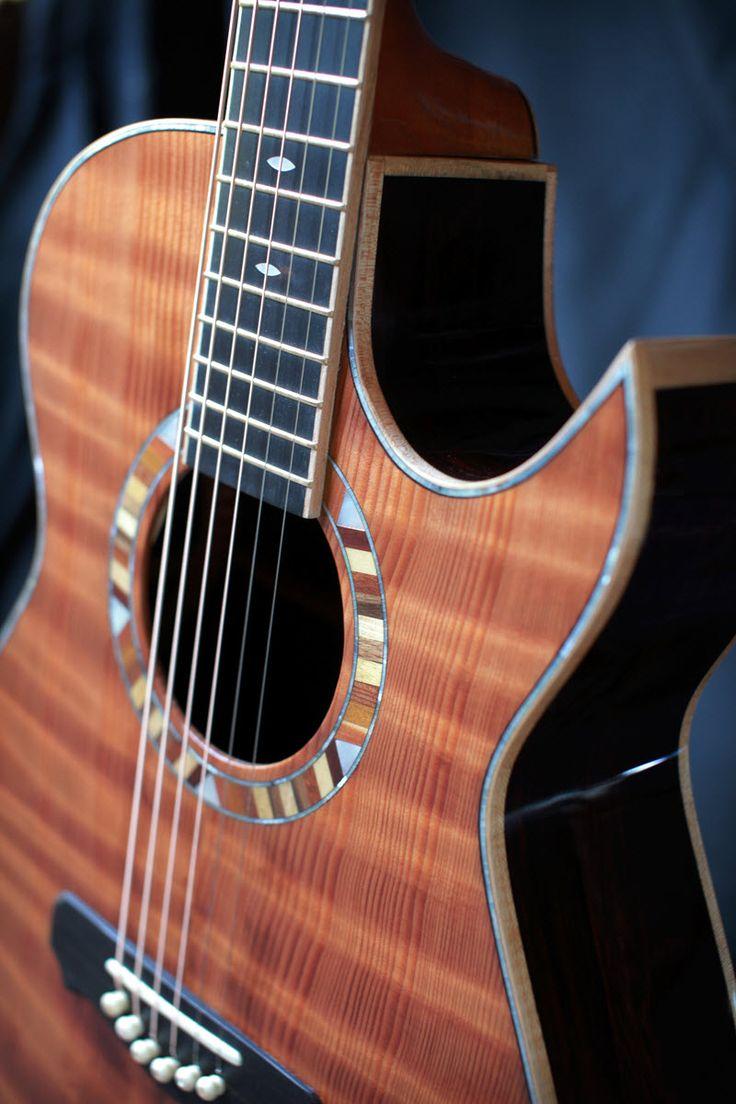 Custom Handmade Orchestra Model OM Acoustic Guitar
