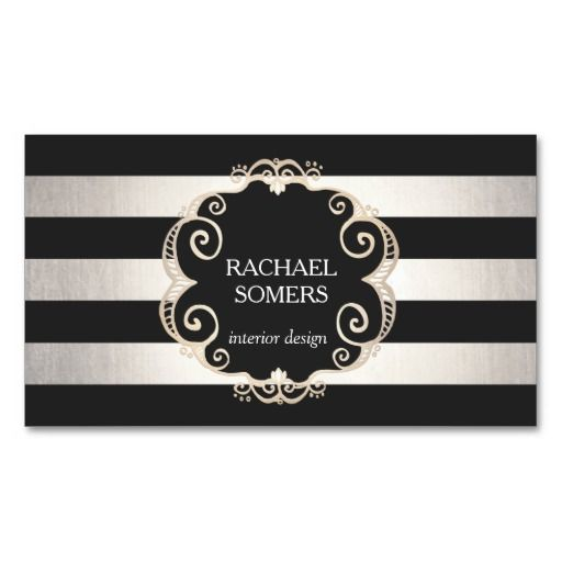 Great card for interior designers, event planners,  beauty consultants' hair salons, fashion boutiques and more. #businesscards. Fully customizable and ready to order. Simple, elegant and chic. customizable business cards | cheap business cards | cool business cards | Business card templates | unique business cards