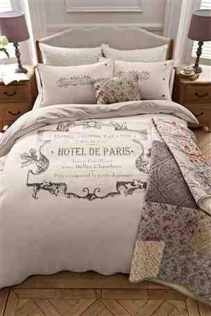 16 best **Paris Decor ** images on Pinterest   Duvet sets, Brush ... : paris quilt cover set - Adamdwight.com