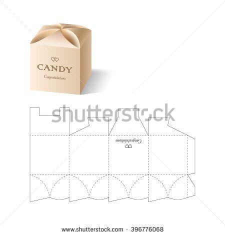 Die Cutting Vectores en stock y Arte vectorial | Shutterstock empaque con tapa con curvas