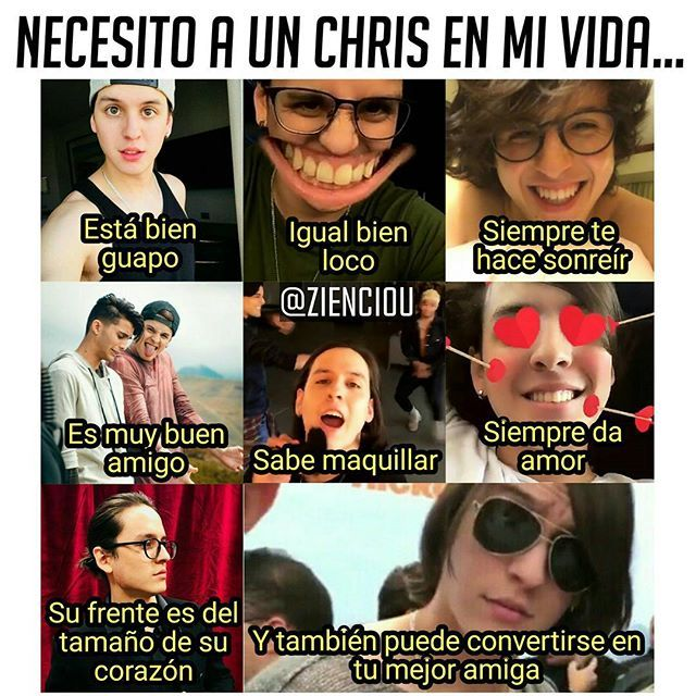Quiero a un Chris en mi vida