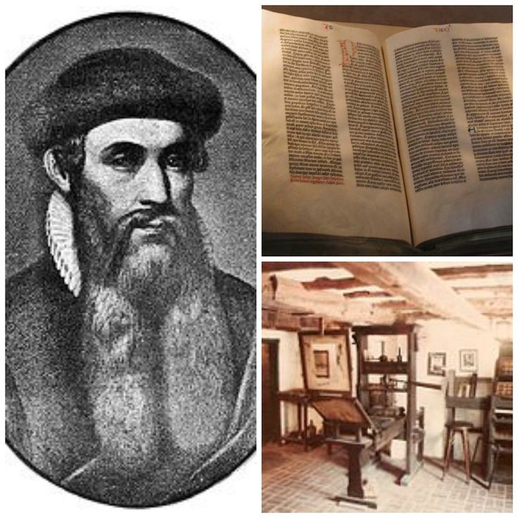 JOHANNES GUTENBERG In 1438, Johannes Gutenberg a goldsmith and bussinessman from the minning town of Mainz in Southern Germany ,borrowed som...