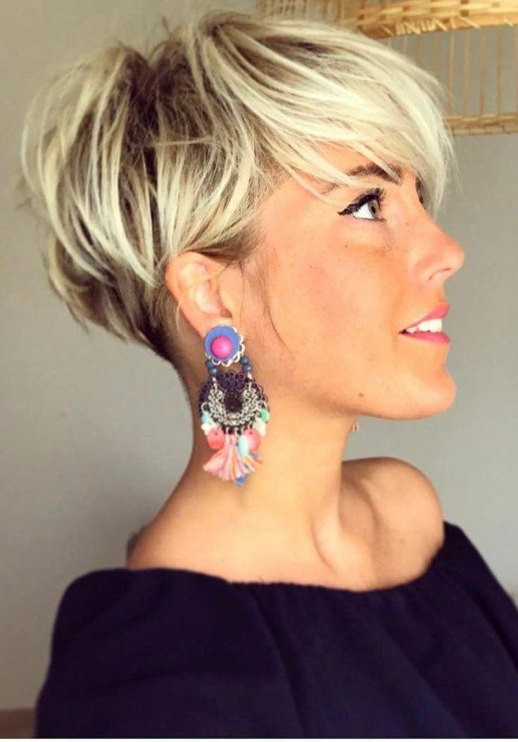 Pixie Haircuts for Thick Hair They say that stylis…