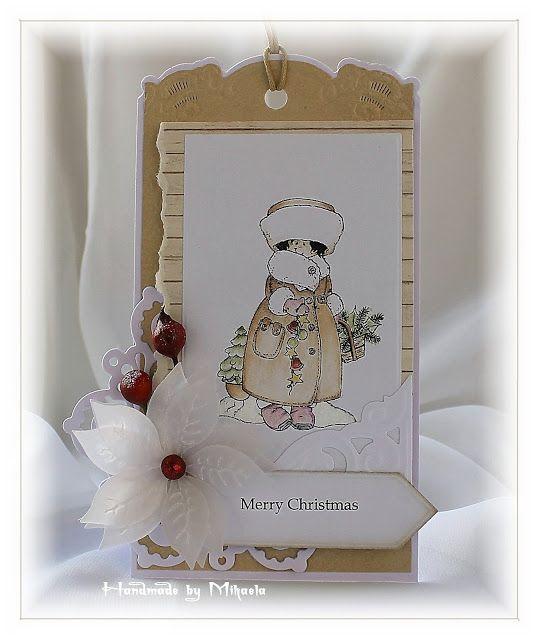 Handmade by Mihaela: Christmas tag