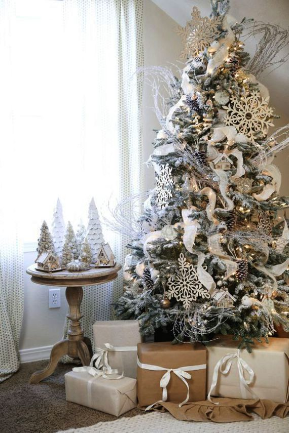 When Do Christmas Trees Go On Clearance Also Christmas Chronicles Band Christmas Chronicle White Christmas Decor Flocked Christmas Trees White Christmas Trees