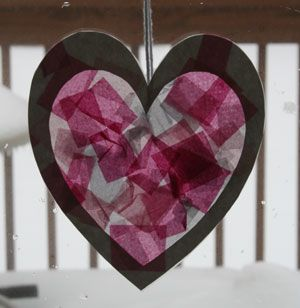 valentines day heart craft