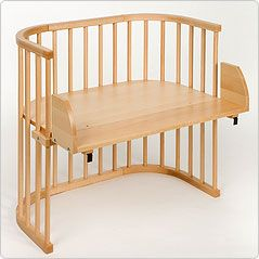 Genius!!! co-sleeper, bassinet, high chair, chair, bench, desk! 2 together make a playpen! Amazing.