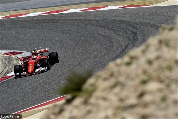 Conclusi anche per la Ferrari i test di F1 in Bahrain
