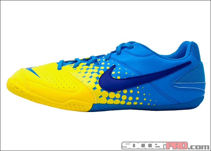 check out 345fa 1f898 Nike Nike5 Gato Leather - BlackBlackWhiteDark Shadow Indoor Soccer Shoes  Nike5 Elastico Indoor Soccer Shoes - Blue Glow with Yellow...39.99 ...