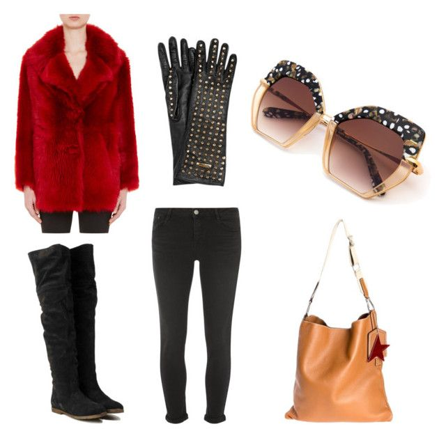 GLAM by loulou-luna on Polyvore featuring moda, Prada, Dorothy Perkins, Golden Goose and Burberry