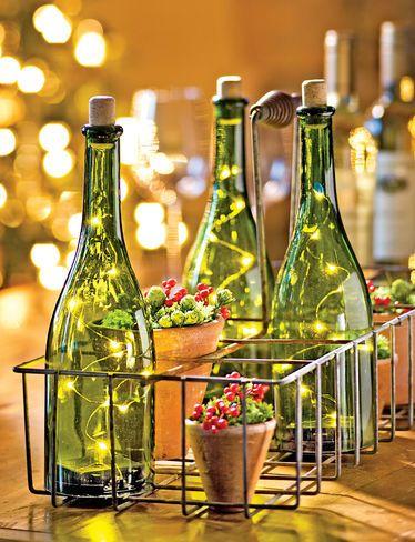 LED Wine Bottle Light