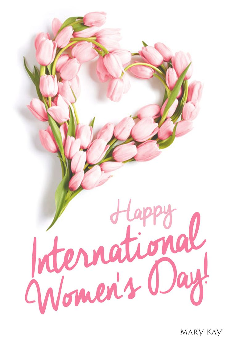 Take time to celebrate the women in your life. March 8th is International Women's Day! | Mary Kay