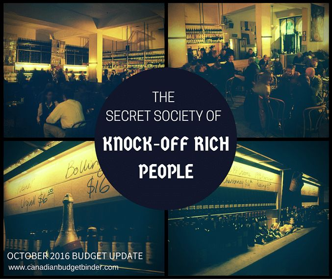Are you part of a Secret Society of Knock-Off Rich People? I spoke to a CBB fan who says, he wants out!! Plus our October Budget Income and Numbers are in!! Enjoy the read. Please Share the love. Mr.CBB  http://bit.ly/2fnKoDz