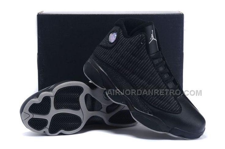 http://www.airjordanretro.com/air-jordan-13-all-black-anthracite-for-sale-free-shipping-online.html AIR JORDAN 13 ALL BLACK ANTHRACITE FOR SALE FREE SHIPPING ONLINE Only $82.00 , Free Shipping!