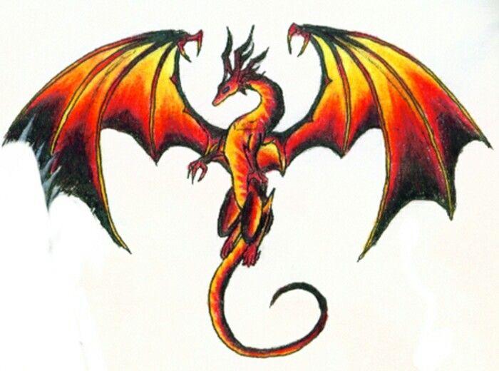 miscellaneous fire dragon picture - photo #49