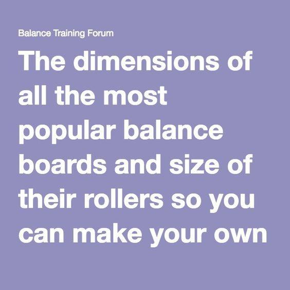 Balance Board Measurements: 17 Best Ideas About Balance Board On Pinterest