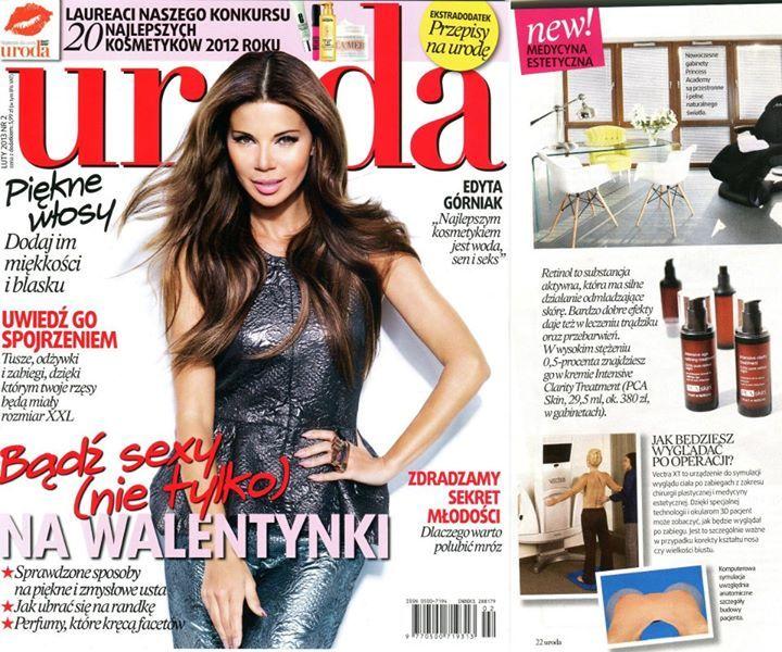 PR produktowy - PCA Skin dystrybuowany przez Bio-Estetic w nowościach magazynu Uroda