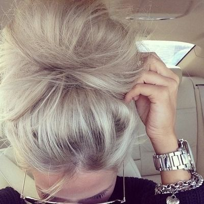Perfect gray toned hair! No gold or honey!