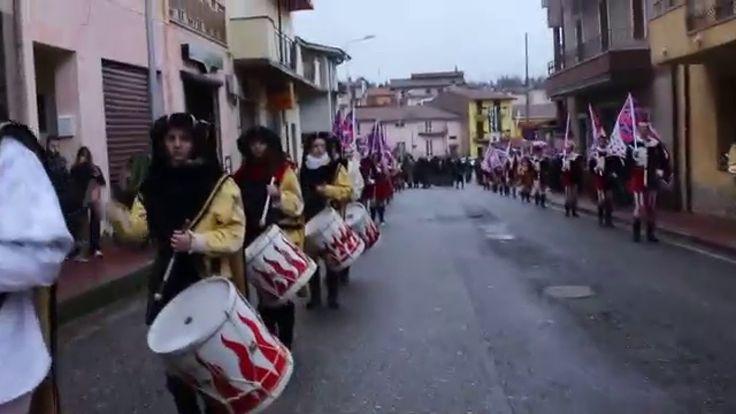 Loybillyrock in Ballando al Carnevale degli Sbandieratori e dei Musici