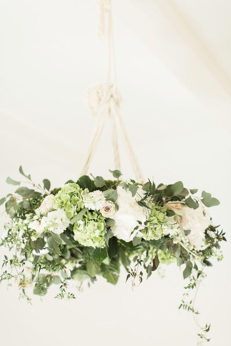 Floral Chandelier | | Brinkburn Northumberland Floral Inspiration Shoot | Bels Flowers | Katy Melling Photography | http://www.rockmywedding.co.uk/beautiful-floral-inspiration-at-brinkburn/                                                                                                                                                                                 More