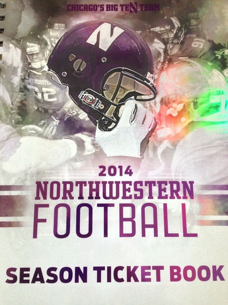 Northwestern vs Wisconsin, 2 College Football Tickets, 10/04/14 in Evanston