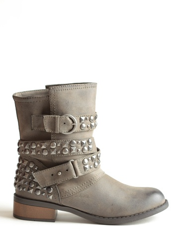 Showstopper Studded Boots. I wish my family could see my pinterest board and buy me these boots.