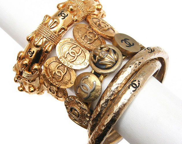 Another fab pic from our slide show of vintage Chanel jewelry pieces up for sale. Click through to see the rest!