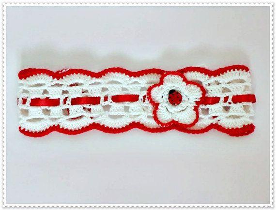 Crochet headband for baby Headband for girls ,Headband for gift,Headband for little girls Baby accessories
