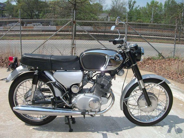 Honda Motorcycle Old