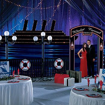 Underwater Prom Decorations | Prom Theme Ideas using this decorating style: