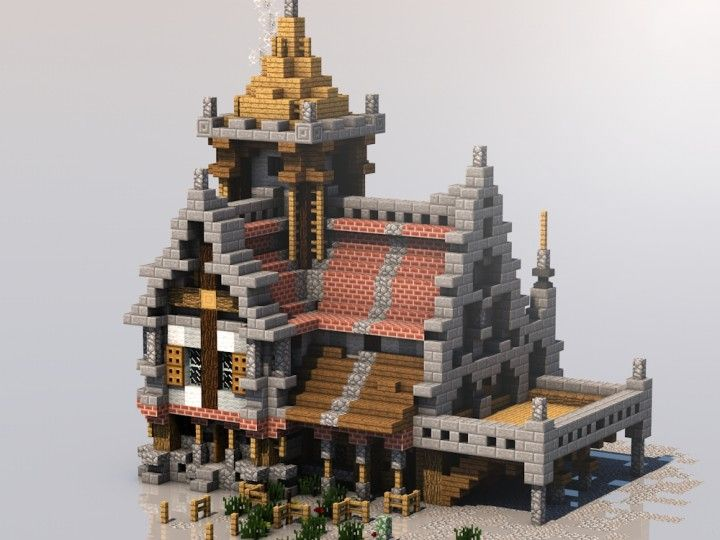 Medieval Mondays #3: Small House Minecraft Project