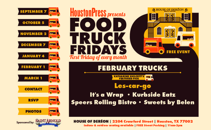 Houston Press - Food Truck Fridays