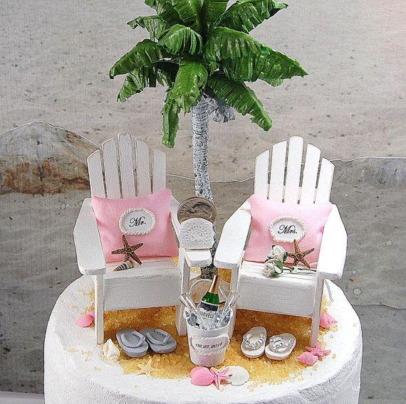 105 best Beach Wedding Cakes images on Pinterest Beach wedding