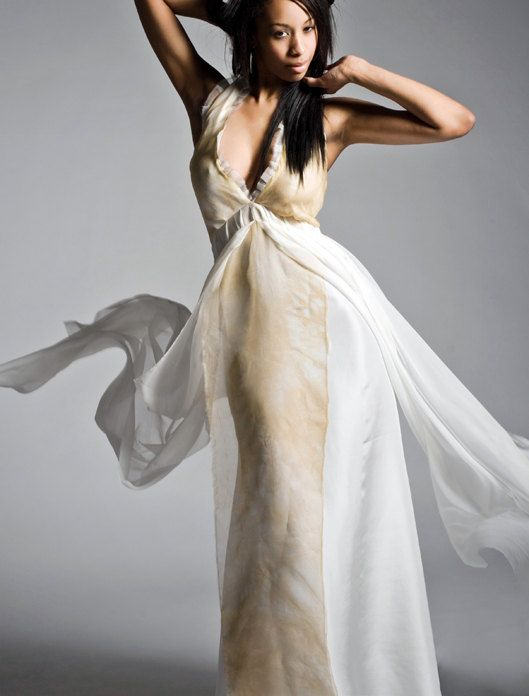 Hey, I found this really awesome Etsy listing at https://www.etsy.com/listing/214711662/silk-chiffon-wedding-dress-flowy-wedding