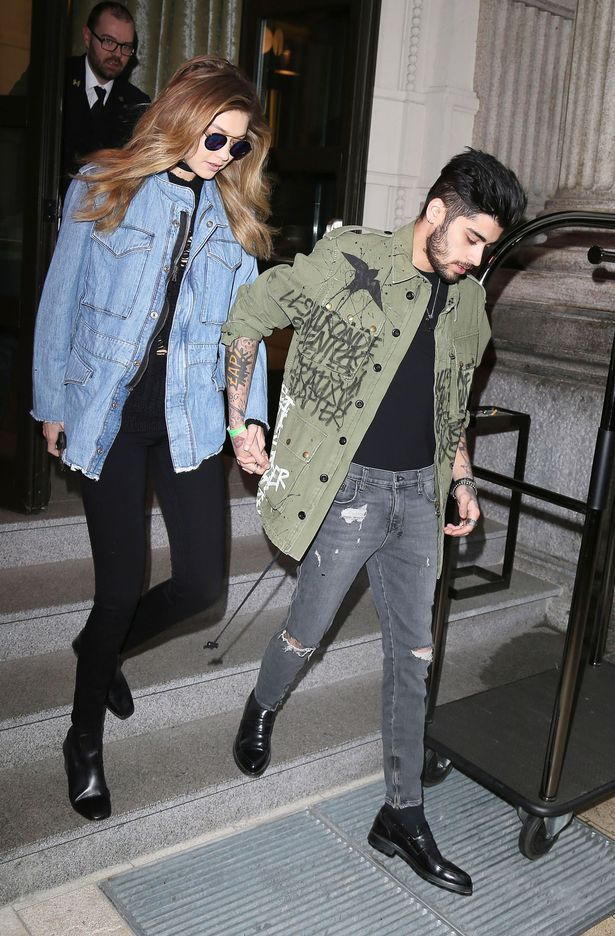 Zayn Malik is dating model Gigi Hadid