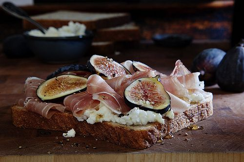 Sliced Gourmet at 650 Bay St.: Toronto, Figs Feta, Cottages Cheese, Slices Gourmet, Food And Drinks, Slices 650, 650 Bays, Sandwiches Secret, Bays St.