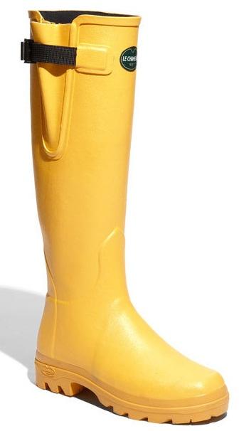 Botas de Agua Le Chameau amarillas