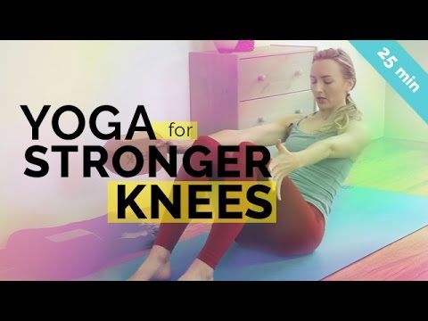 Strengthen and heal your knees with this yoga for knee pain sequence. Works to aid and prevent knee pain, runners knee, and patella tendon soreness. Remember...