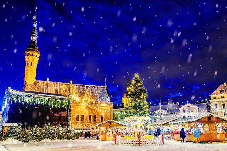 Сказочное путешествие по городам Европы в канун Нового года