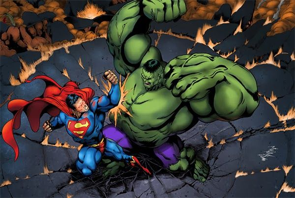 Superman Vs. Hulk.
