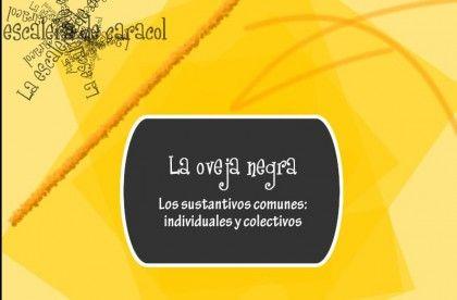 Sustantivos individuales y colectivos
