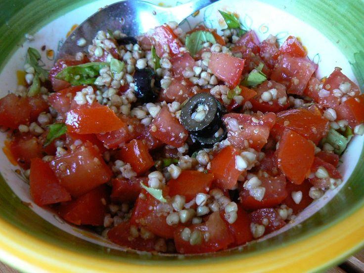 Salade de sarrasin aux tomates salades composees