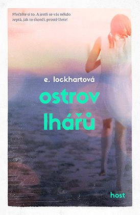 Czech cover of the book We Were Liars by E. Lockhart