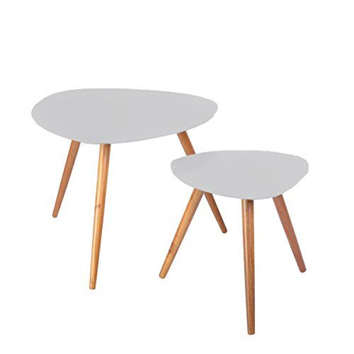 Set of 2 nesting coffee tables perfect for every room in the house - Colour GREY Atmosphera http://www.amazon.co.uk/dp/B00PBB0SOG/ref=cm_sw_r_pi_dp_82lswb0HXBA1W