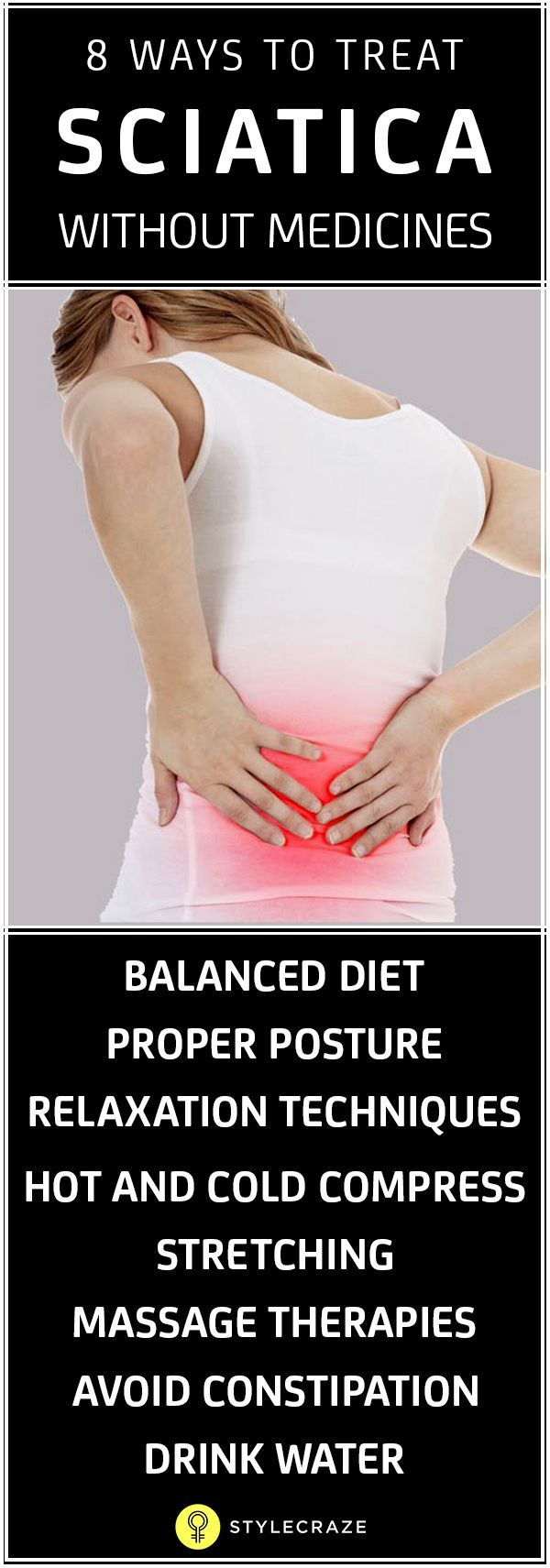Are you suffering from severe pain from the lower back to the hip, it may be a sign of sciatica. Here we provide you 8 effective home remedies for sciatica.