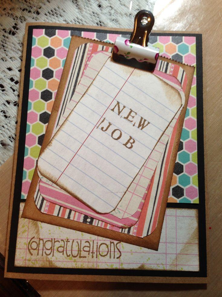 8 best new job card ideas images on pinterest