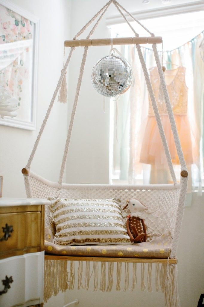 Hammock Chair // Minus The Disco Ball